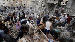 Serangan Udara Tewaskan 6 Bocah Yaman, Pelakunya Diduga Arab Saudi