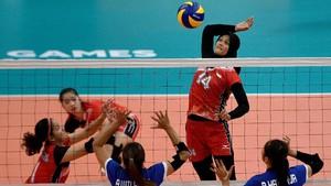 Hentikan Vietnam, Indonesia Melangkah ke Final Voli Putri