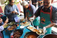 Nikmatnya Gorengan Kambing dengan Nasi Ulam Khas Betawi