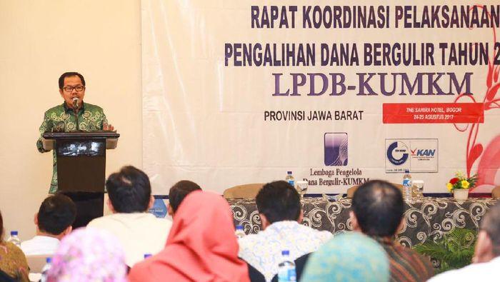 Direktur Utama LPDB-KUMKM Braman Setyo/Foto: Dok LPDB KUMKM