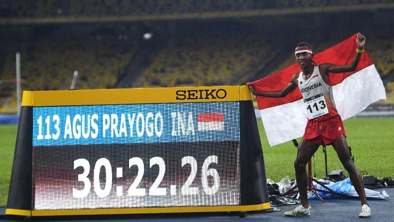 Atletik Sumbang Dua Emas dari Tolak Peluru dan 10.000 Meter Putra