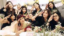 Momen Bahagia Bridal Shower Raisa, Senyum Manis Aurelie Moeremans