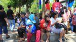 Antusiasme Warga Nantikan Karnaval Kemerdekaan yang Dihadiri Jokowi
