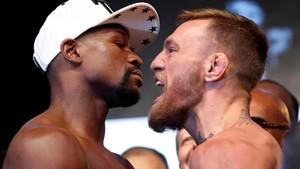 Mayweather vs McGregor, Pacquiao Jagokan Siapa?