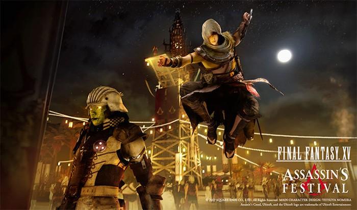 Kolaborasi Assassin S Creed Dan Final Fantasy Xv Terlihat Keren