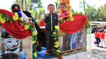 Keren, Ini Aneka Kendaraan Hias Karnaval Kemerdekaan di Bandung