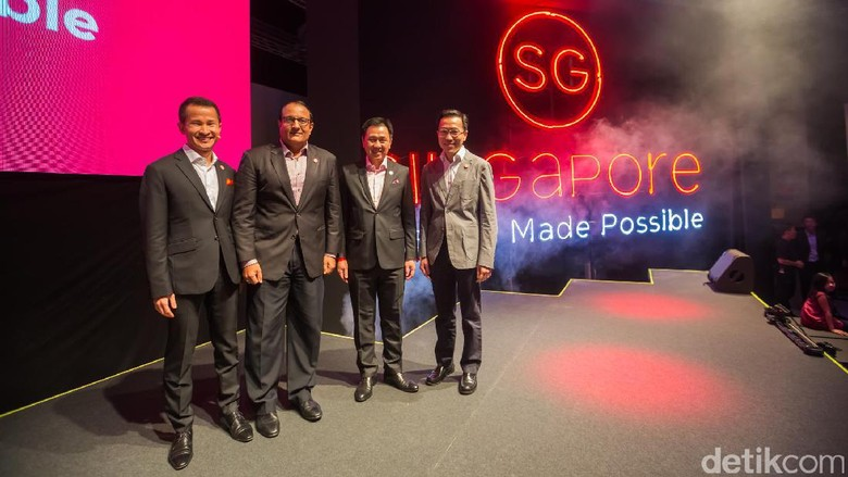 Press conference Singapore Tourism Board (Tri Ispranoto/detikTravel)