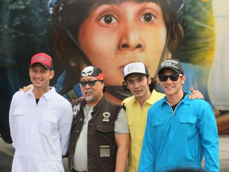 Foto: Pemain film Warkop DKI Reborn: Jangkrik Boss Part 2 (Hanif Hawari/detikHOT)
