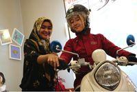 Edukasi safety riding dengan New Fino 125 (Foto: Yamaha)