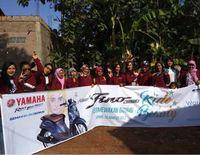 Fino lovers dalam event Smart Beauty Stylish Fino City Touring and Beauty Class di Jepara (Foto: Yamaha)