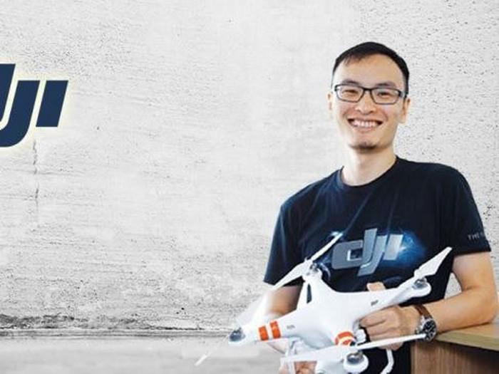 Frank Wang, bos dan pendiri DJI