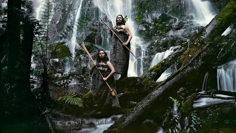 Ilustrasi orang Maori (istimewa/JImmy Nelson)