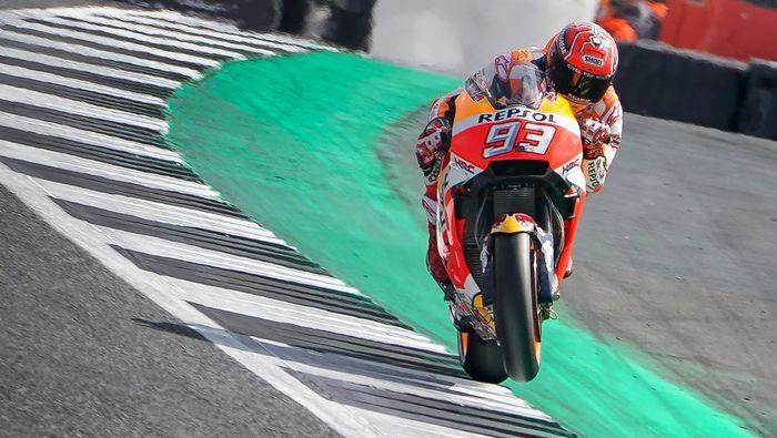 Marc Marquez ada dalam daftar pebalap tersukses pabrikan di era MotoGP. (Foto: iInstagram @marcmarquez93)