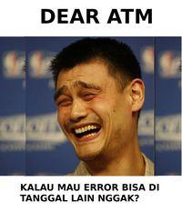 Sabar Ini Ujian ATM Offline Pas Tanggal Gajian