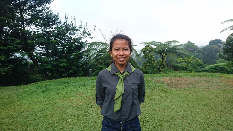 Mathilda Dwi Lestari (23) pendaki seven summit (Foto: Masaul/detikTravel)