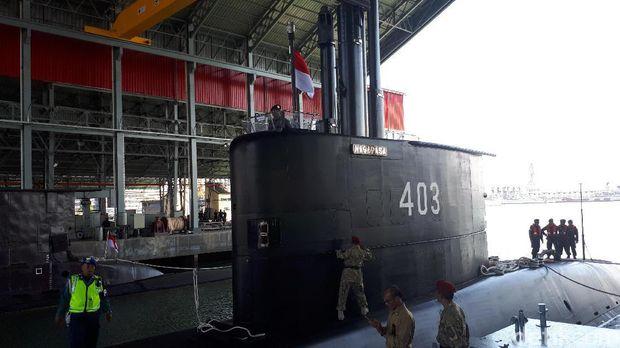 Ini Dia Penampakan Kapal Selam KRI Nagapasa 403
