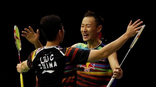 Total Kevin/Marcus sudah memenangi lima pertemuan atas Liu/Zhang.