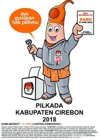 Ini Dia Si Timo, Maskot Pilbup Cirebon Terinspirasi dari Canting