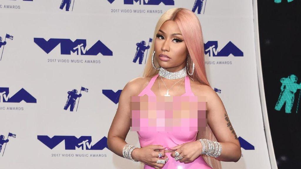 Tampil di MTV VMA 2017, Nicki Minaj Pakai Perhiasan Rp 13 Miliar