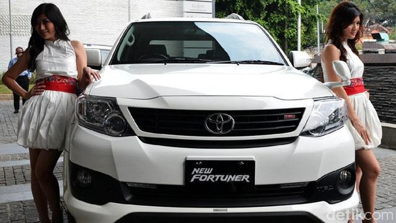 Toyota Fortuner 2013 (Foto: dok detikOto)