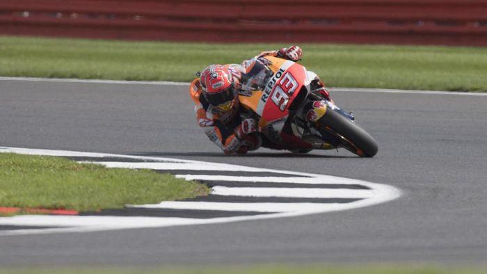 Di MotoGP Jepang, Marc Marquez memburu podiumnya yang ke-100 (Foto: Mirco Lazzari gp/Getty Images)