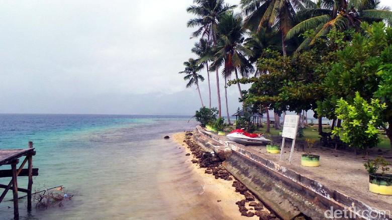Pulau Nusa Ra, permata baru dari Halmahera Selatan (Wahyu/detikTravel)