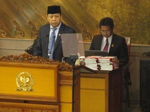 Novanto Hadiri Paripurna Penetapan Anggota Komnas HAM