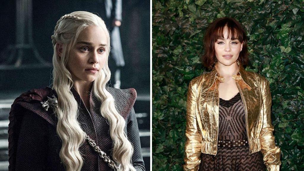 Beda Banget! 15 Transformasi Pemain Game of Thrones Tanpa Kostum