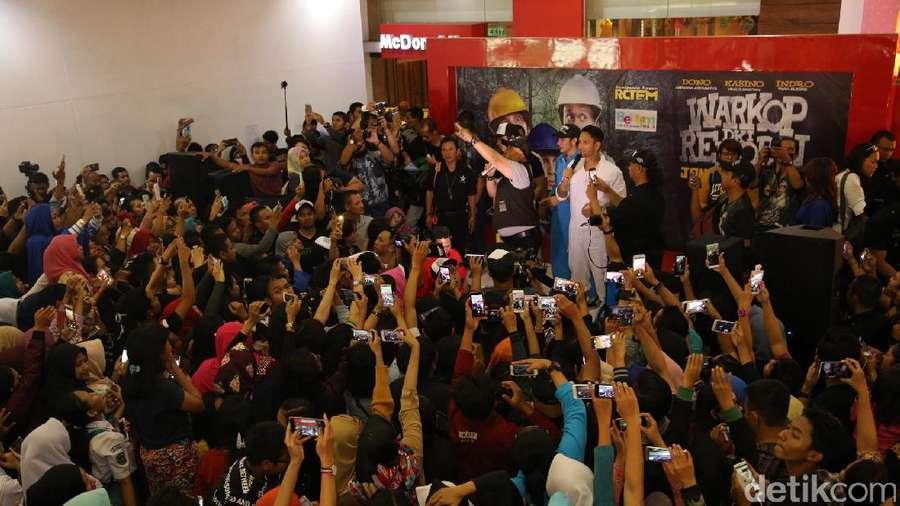 Petjah! Yogyakarta dan Semarang Sambut Cast Warkop DKI Reborn