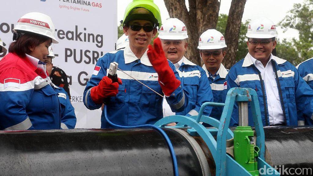 Proyek Pipa Gas Grissik-Pusri Dimulai