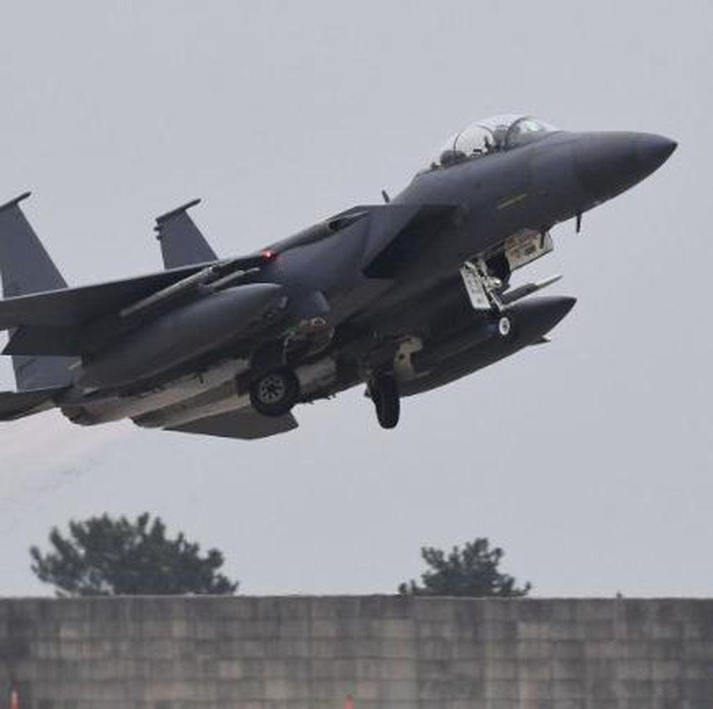 Jet Tempur Korsel Lepaskan Tembakan Peringatan ke Pesawat Militer Rusia
