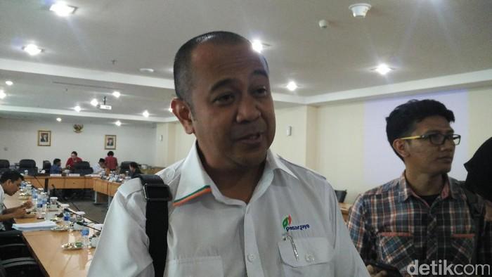 Dirut PD Pasar Jaya Arief Nasrudin