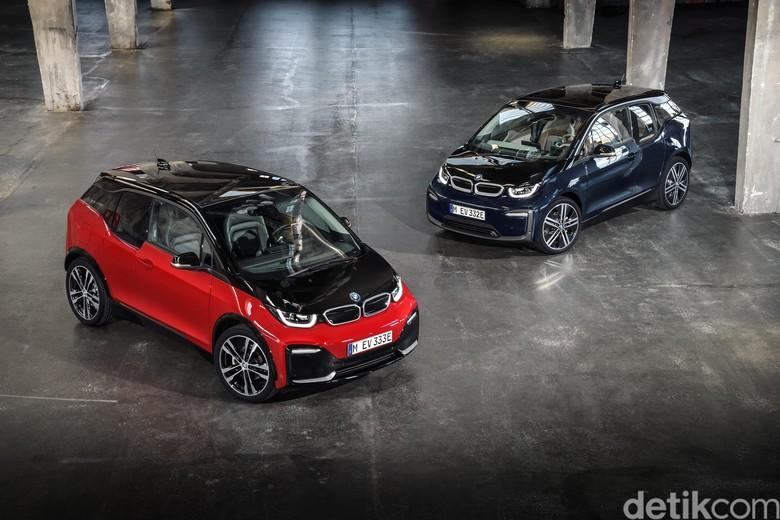 Mobil listrik BMW i3. Foto: BMW
