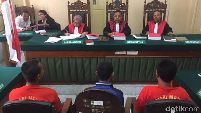 Andi Lala cs Mulai Diadili di Medan, Terancam Hukuman Mati