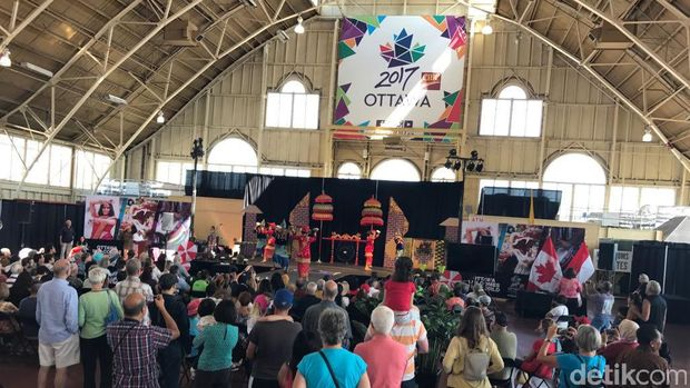 Indofest 2017 di Ottawa-Kanada