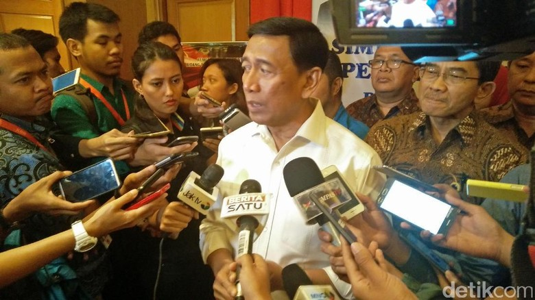 Pulang dari Singapura, Wiranto Usul ke Jokowi Bentuk Badan Siber