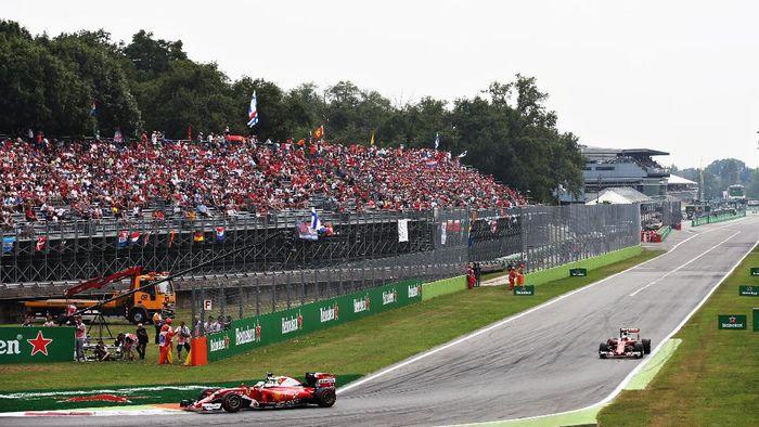 Balap F1 akan berlanjut ke GP Italia akhir pekan ini (Foto: Charles Coates/Getty Images)