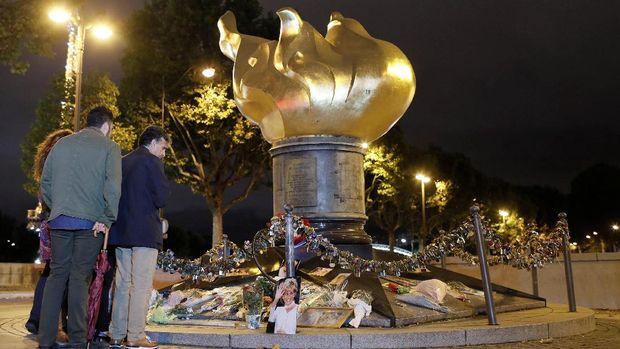 Lokasi tewasnya Putri Diana di Paris