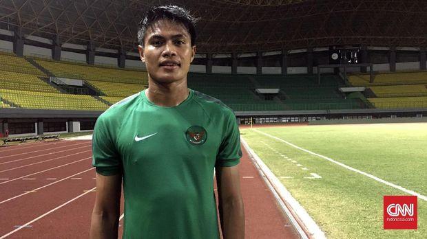 Fachruddin Wahyudi Aryanto menjadi pemain pengganti.