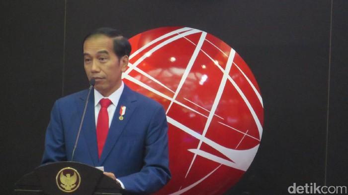 Presiden Jokowi di BEI