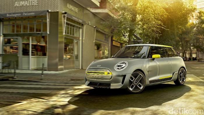 Di ajang Frankfurt Motor Show yang akan digelar September mendatang, MINI akan meluncurkan konsep mobil listrik, namanya Electric concept.