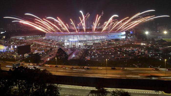 Pembukaan SEA Games 2017 Kuala Lumpur. (AntaraFOTO)