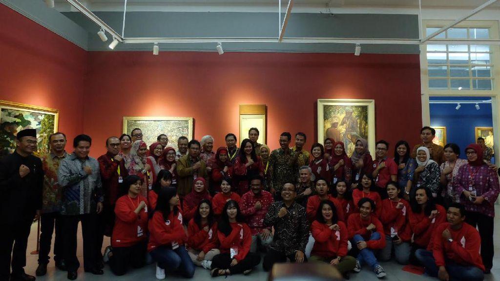 Sebulan Digelar, Pameran Lukisan Langka Istana Sukses Gaet 35 Ribu Pengunjung