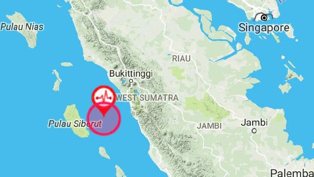 Gempa M 5,8 di Mentawai Kagetkan Pengunjung dan Nakes RS Padang