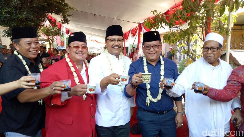 Ngopi Bareng Gus Ipul, Sekjen PDIP: Jawa Timur Sangat Penting