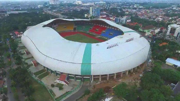 Stadion Patriot Candrabhaga berpotensi menjadi venue sepakbola Asian Games 2018. (Sumber: konibekasikota.com)