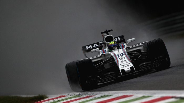 Pebalap Williams Felipe Massa tercepat di sesi ketiga FP3 GP Italia (Dan Istitene/Getty Images)