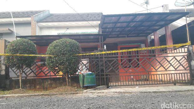 Rumah kontrakan yang jadi saksi bisu penembakan Indria.