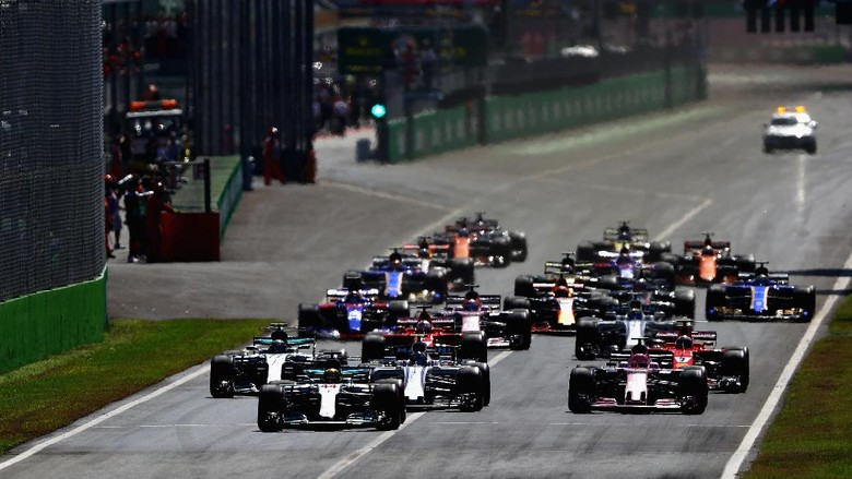 Mercedes Dominan di Monza, Hamilton Jadi Juara