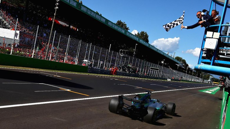 Hasil F1 GP Italia 2017
